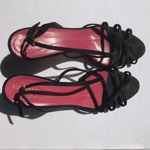 Black Kate Spade Heels Size 9.5 HOCO